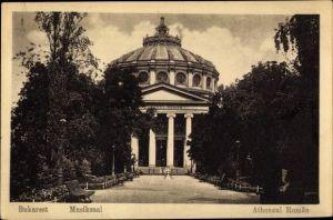 Ak București Bukarest Rumänien, Musiksaal, Atheneul Roman