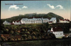 Ak Saarbrücken im Saarland, Garnisonslazarett