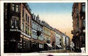 Ak Saarlouis im Saarland, Lisdorfer Straße, Kaiserhof