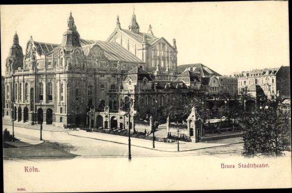 Ak Köln am Rhein, Neues Stadttheater