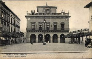 Ak Irún Irun Baskenland Spanien, El Ayuntamiento