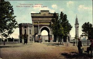 Ak Konstantinopel Istanbul Türkei, Entree du Seraskerat, Ministere de la guerre