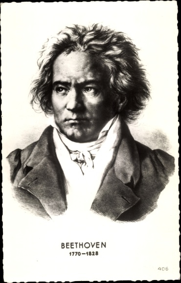 Künstler Ak Ludwig van Beethoven, Deutscher Komponist, Wiener Klassik