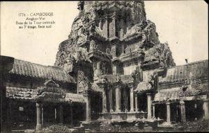 Ak Angkor Kambodscha, Angkor Vat, Base de la Tour