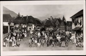 Ak Sonneberg in Thüringen, Spielzeugmuseum, Ausstellungsgruppe für Brüssel 1910, Thüringer Kirmes