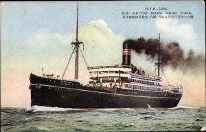 Ak Dampfer SS Katori Maru, NYK Line