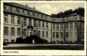 Ak Bad Wünnenberg Westfalen, Schloss Fürstenberg, Außenansicht