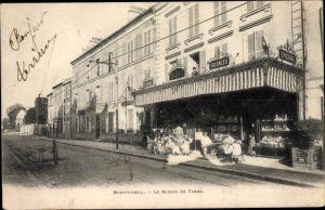Ak Montfermeil Seine Saint Denis, Le Bureau de Tabac, Epicerie