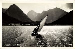 Ak Segeln am Achensee, Segelboot