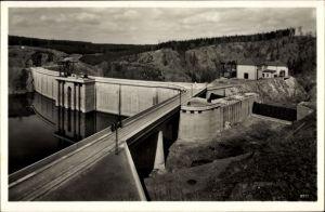 Ak Saalburg Ebersdorf in Thüringen, Blick auf die Saaletalsperre