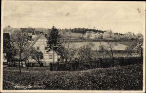 Ak Borsberg Dresden Nordost Schönfeld Weißig, Teilansicht vom Ort
