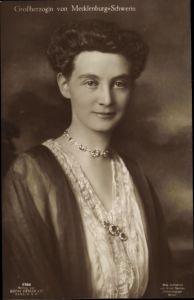 Ak Großherzogin von Mecklenburg-Schwerin