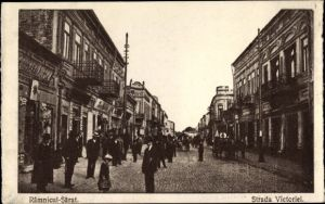 Ak Râmnicu Sărat Rümnick Rumänien, Strada Victoriei