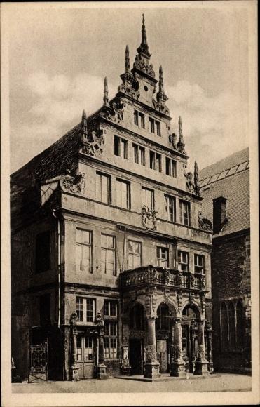 Ak Münster in Westfalen, Stadtweinhaus
