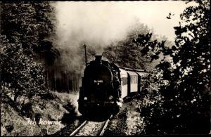 Ak Ich komme, Deutsche Eisenbahn, Dampflokomotive, Lok Nr 56 2480