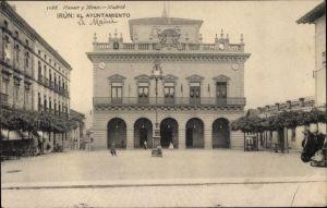 Ak Irún Irun Baskenland Spanien, Ayuntamiento, Rathaus