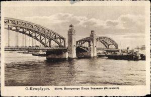 Ak Sankt Petersburg Russland, Pont de Pierre le Grand