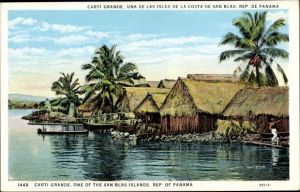 Ak Panama, Carti Grande, one of the San Blas Islands