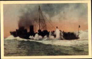 Ak Deutsches Kriegsschiff, Schnellstes deutsches Turbinenhochseetorpedoboot