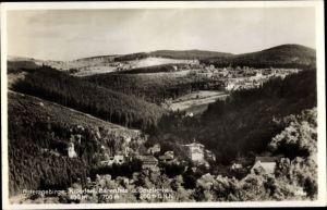 Ak Bärenfels Altenberg im Erzgebirge, Kipsdorf, Bärenfels und Schellerhau