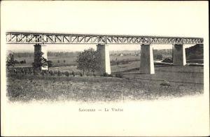Ak Sancerre Cher, Le Viaduc