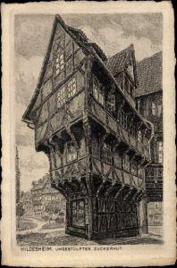 Künstler Ak Hildesheim in Niedersachsen, umgestülpter Zuckerhut