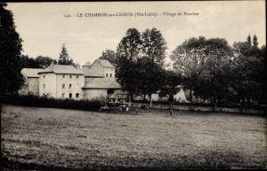 Ak Le Chambon sur Lignon Haute Loire, Village de Panelier