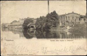 Ak Hamburg Mitte Billstedt Schiffbek, Nordd. Jute-, Spinn- und Weberei