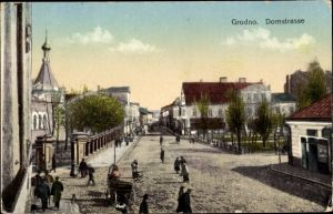 Ak Hrodna Grodno Weißrussland, Domstraße