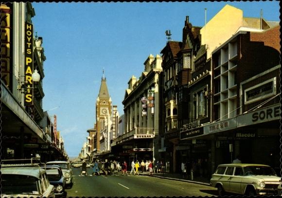 Ak Perth Australien, Hay Street