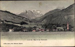 Ak Bex Kt. Waadt Schweiz, Les Diablerets