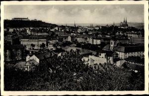 Ak Brno Brünn Südmähren, Blick auf die Stadt