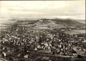 Ak Kahla im Saale Holzland Kreis Thüringen, Blick auf den Ort, Umgebung