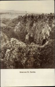 Ak San Canzian d'Isonzo Görz Friuli Venezia Giulia, Panorama