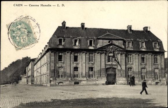 Ak Caen Calvados, Caserne Hamelin, Kaserne