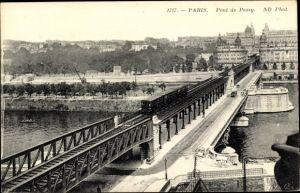 Ak U-Bahn Paris, Metropolitain, Pont de Passy