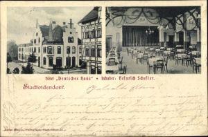Ak Stadtoldendorf in Niedersachsen, Hotel Deutsches Haus, Inh. Heinrich Scheller
