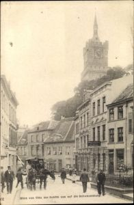 Ak Kleve am Niederrhein, Blick von Otto der Schütz aus auf die Schwanenburg
