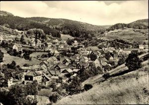 Ak Kleinschmalkalden Floh Seligenthal Thüringen, Unterer Ortsteil, Panorama