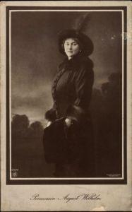 Ak Alexandra Viktoria von Schleswig Holstein Sonderburg Glücksburg, Portrait, NPG 4604