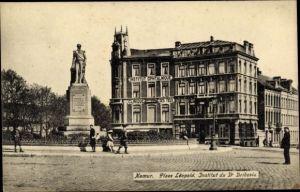Ak Namur Wallonien, Place Leopold, Institut du Dr. Bribosia, Clinique des Yeux
