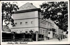 Ak Mühlberg an der Elbe Brandenburg, Stadtschule