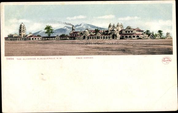 Ak Albuquerque New Mexico USA, The Alvarado