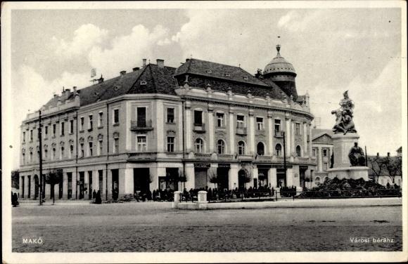 Ak Makó Makowa Ungarn, Városi béhráz