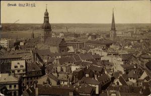 Foto Ak Riga Lettland, Panorama