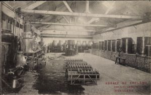 Ak Ivry la Bataille Eure, Abbaye de Theleme, Distillerie