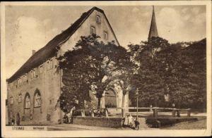 Ak Steinau an der Straße Hessen, Ansicht des Rathauses