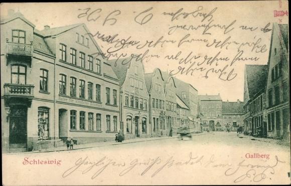 Ak Schleswig an der Schlei, Gallberg