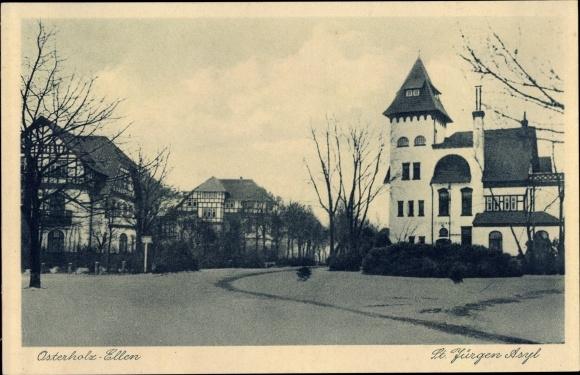 Ak Osterholz Bremen, St. Jürgen Asyl