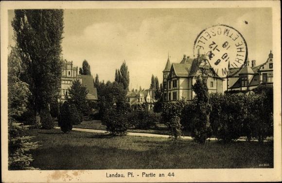 Ak Landau in der Pfalz, Partie an 44